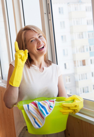 happy brisbane cleaner
